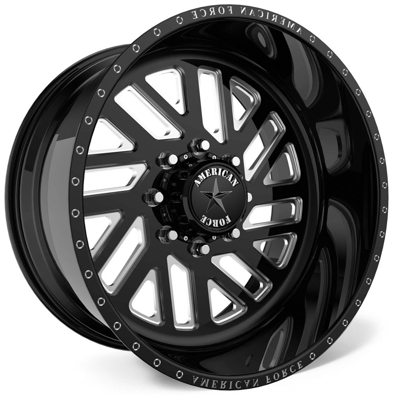 American Force G59 Origin SS8  Wheels Black