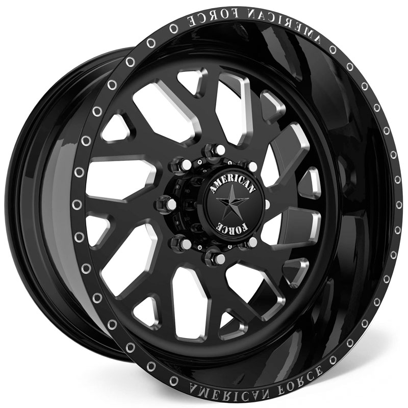American Force G77 Lucky SS8  Wheels Black