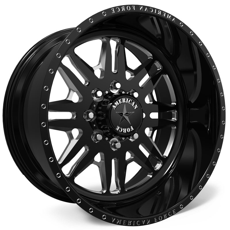 American Force H101 Toro SS6  Wheels Black
