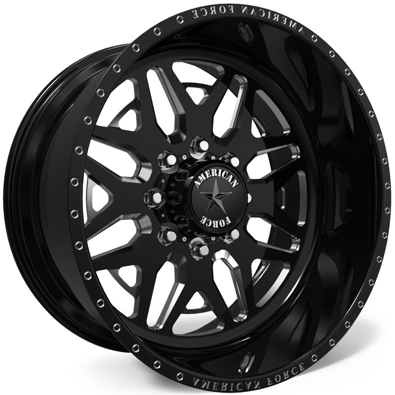 American Force H102 Diablo SS8  Wheels Black