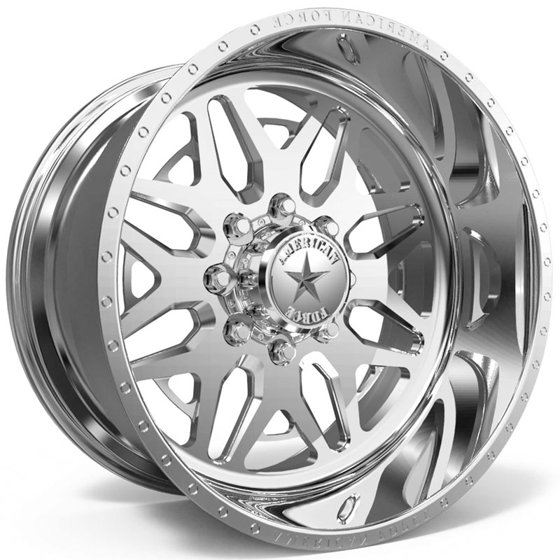 American Force H102 Diablo SS8  Wheels Polished