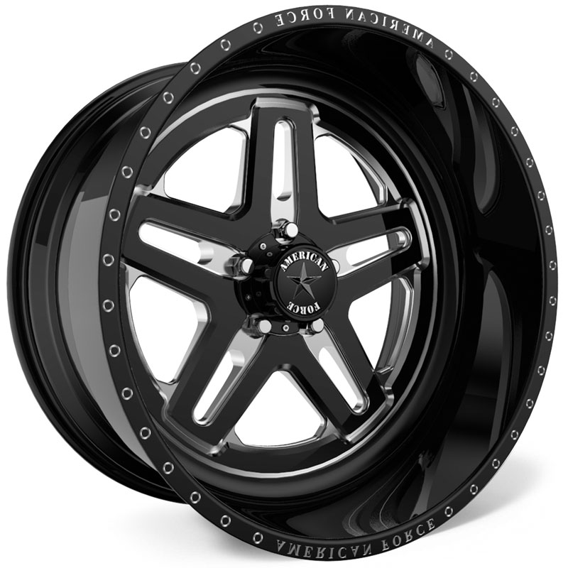 American Force H103 Warrior SS5  Wheels Black