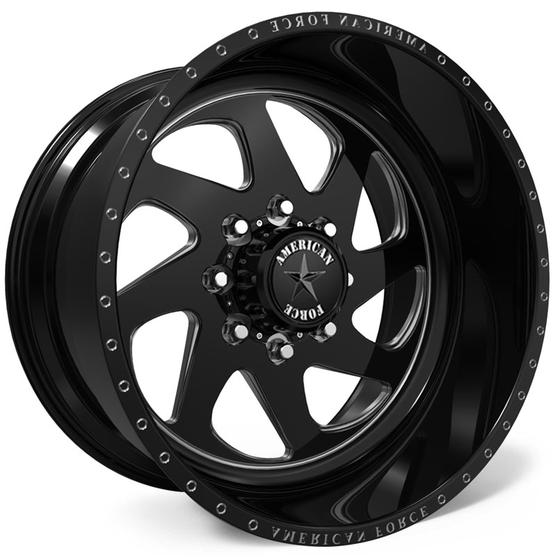 American Force H30 Banshee SS8  Wheels Black