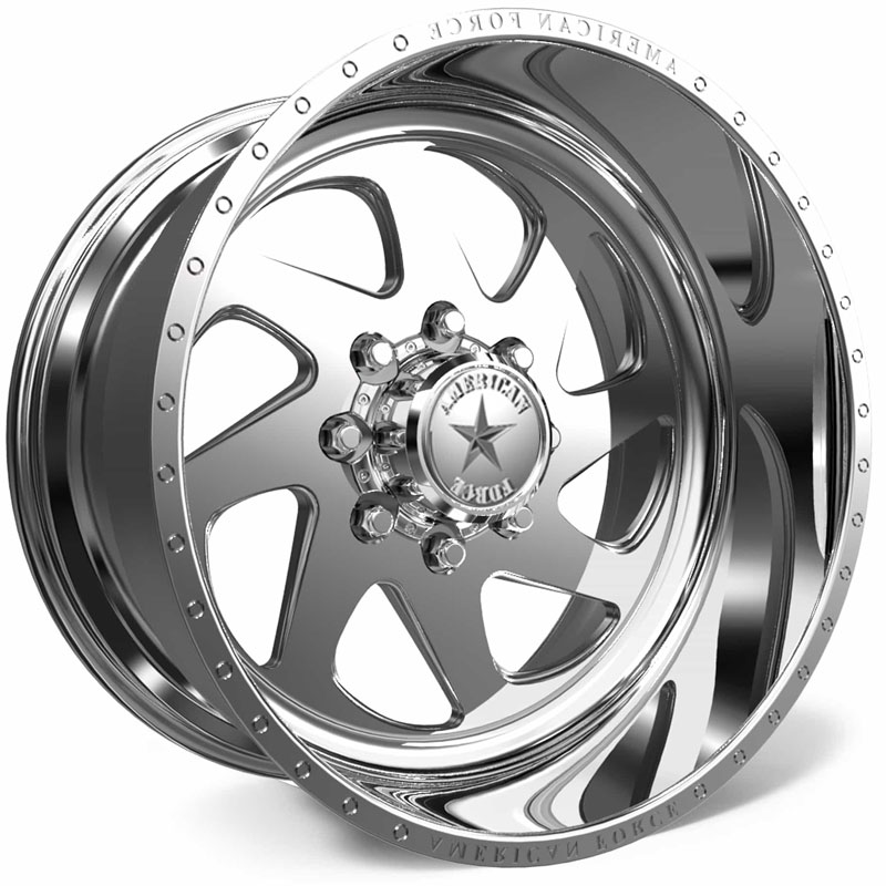 American Force H30 Banshee SS8  Wheels Polished