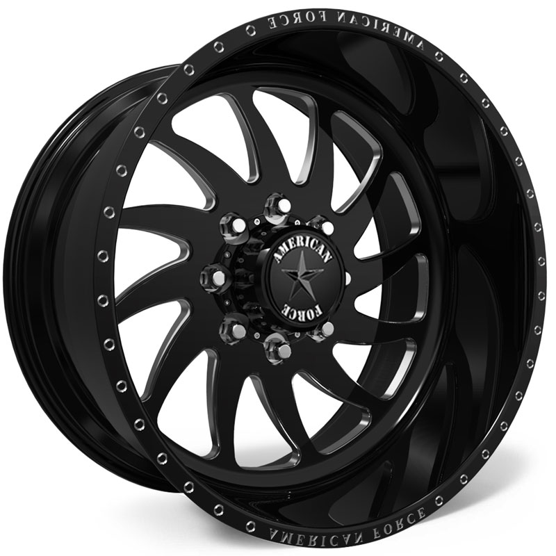 American Force H31 Spirit SS8  Wheels Black