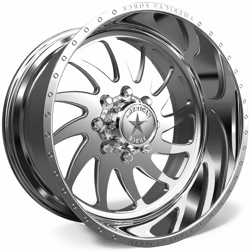 American Force H31 Spirit SS8  Wheels Polished