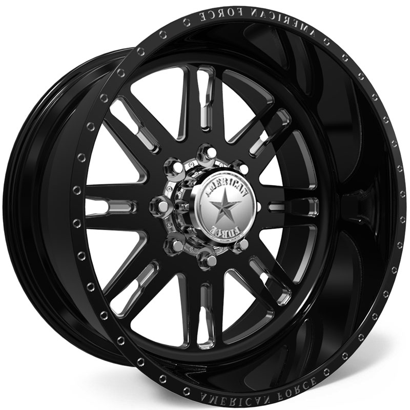 American Force H32 Bishop SS6  Wheels Black