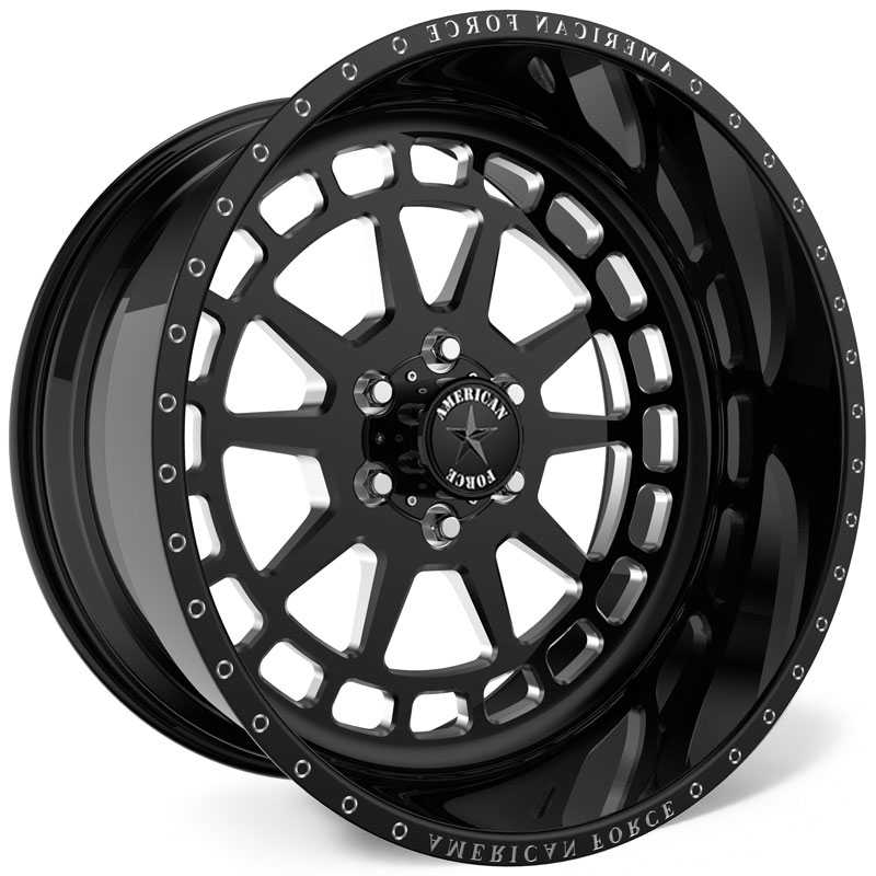 American Force H34 Guardian SS8  Wheels Black