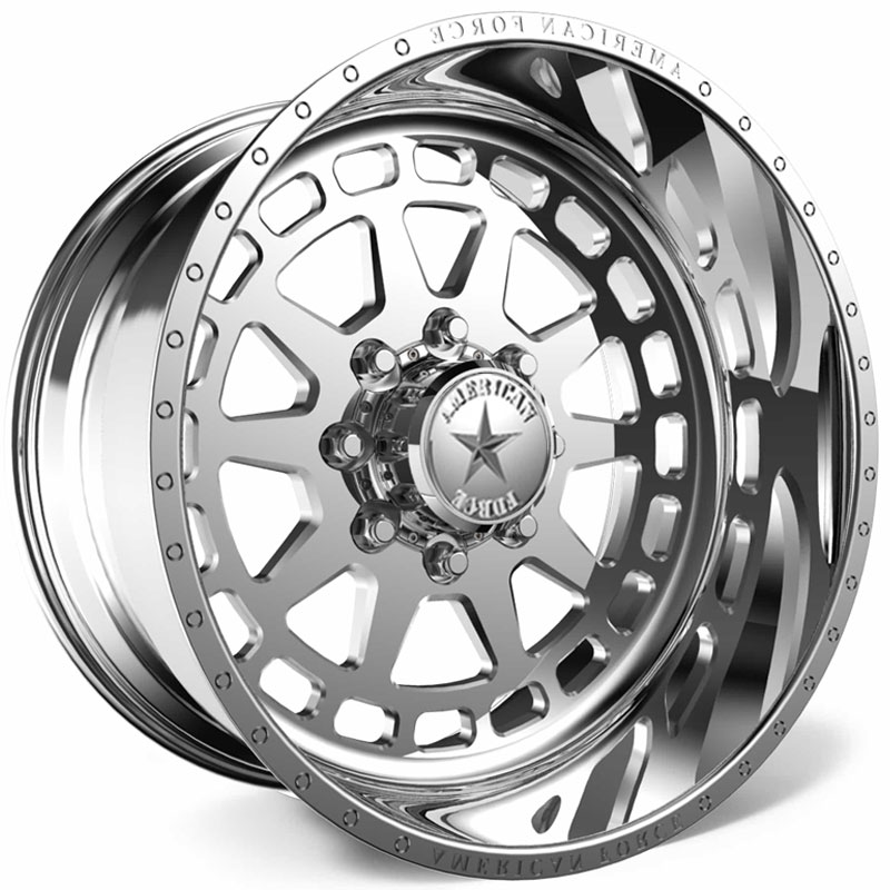 American Force H34 Guardian SS8  Wheels Polished