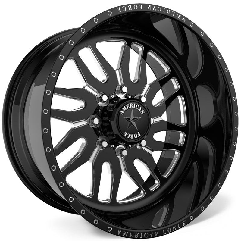 American Force H35 Redd SS6  Wheels Black