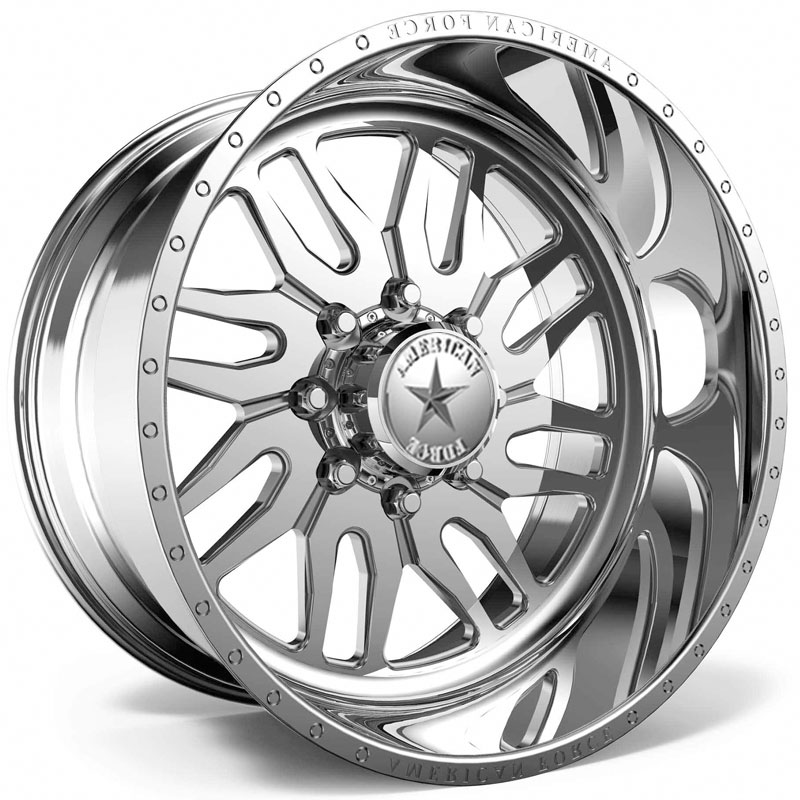 American Force H35 Redd SS6  Wheels Polished