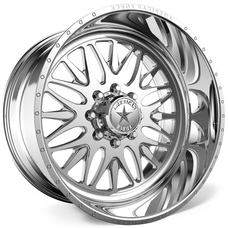 American Force H37 Locus SS6  Wheels Polished