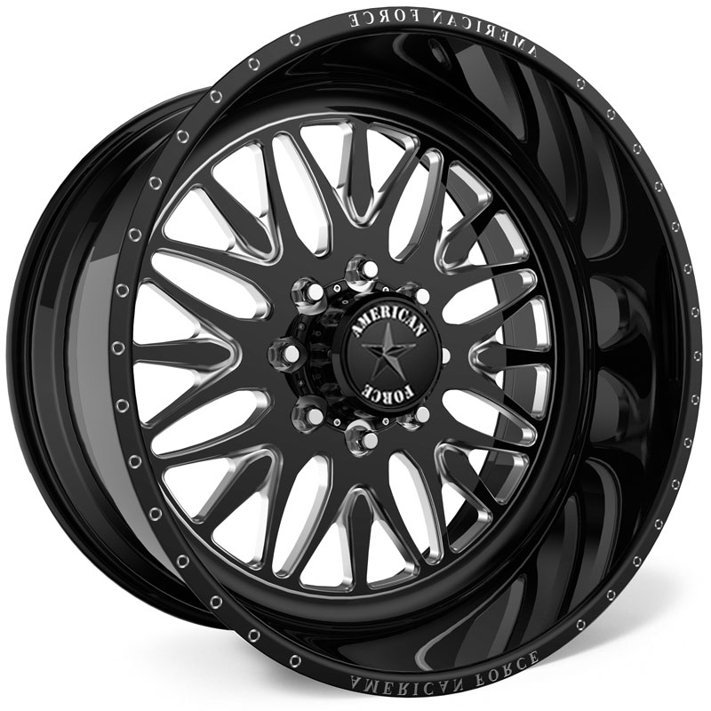 American Force H37 Locus SS8  Wheels Black