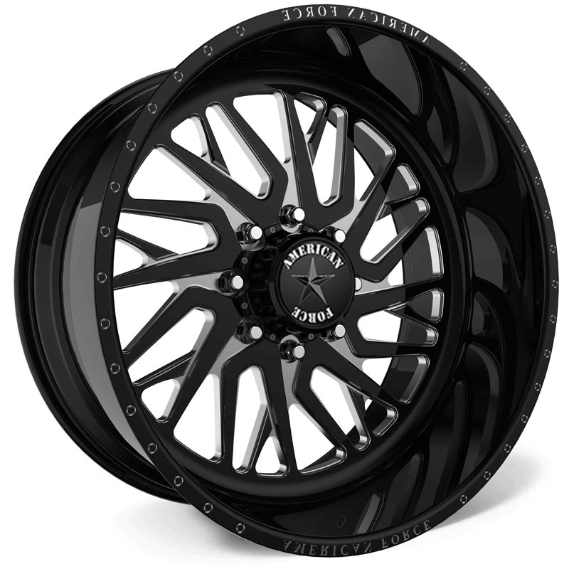 American Force H38 Nova SS6  Wheels Black