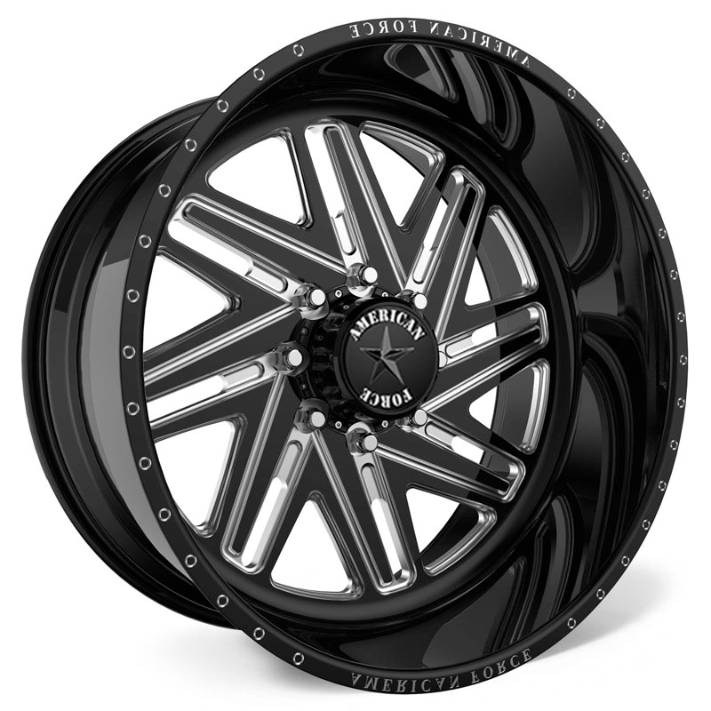 American Force R01 Carver SS8  Wheels Black