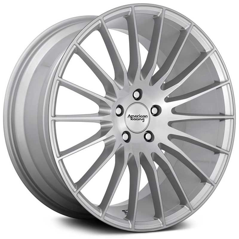 American Racing AR934 Fastlane  Wheels Brushed Silver