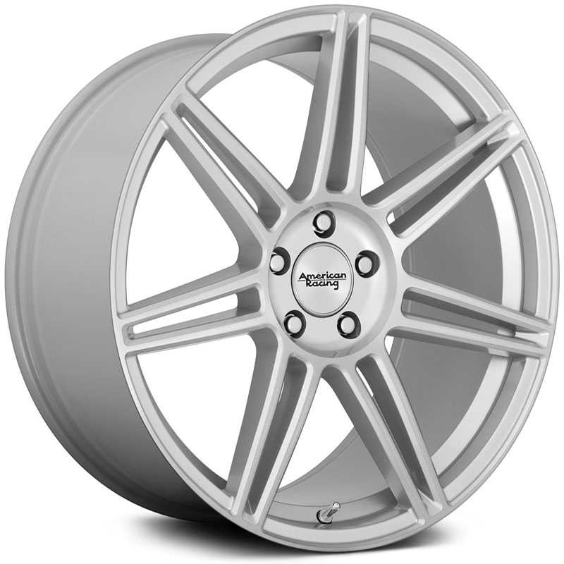 American Racing AR935 Redline  Wheels Brushed Silver