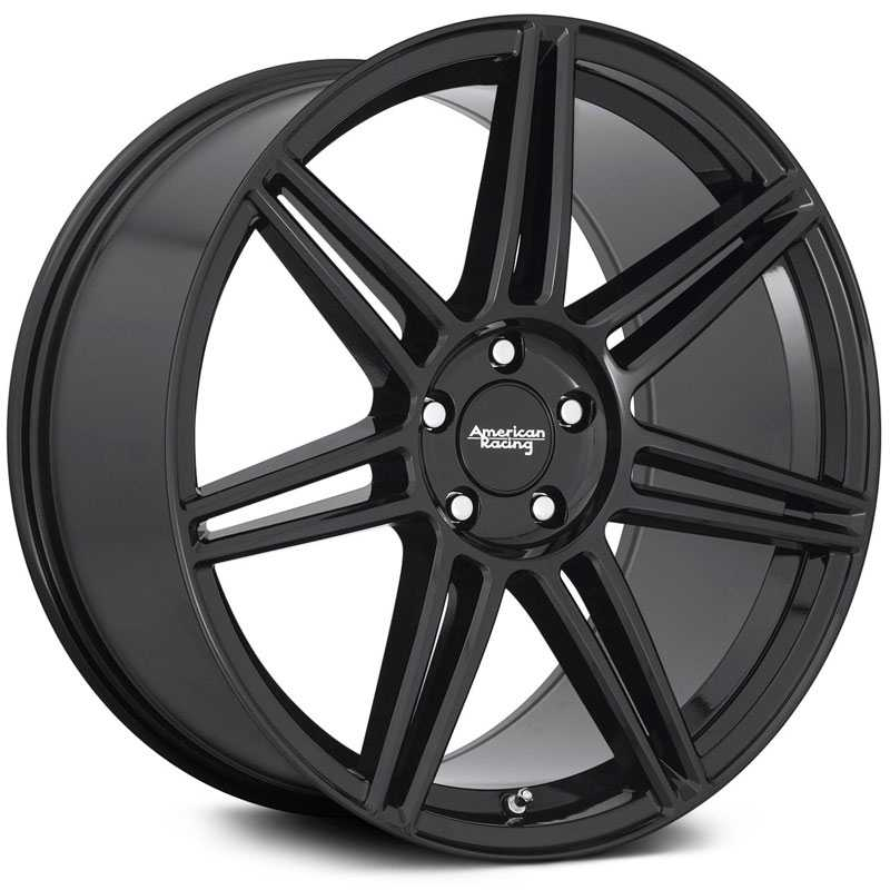 American Racing AR935 Redline  Wheels Gloss Black