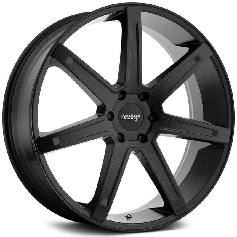 American Racing AR938 Revert  Wheels Satin Black
