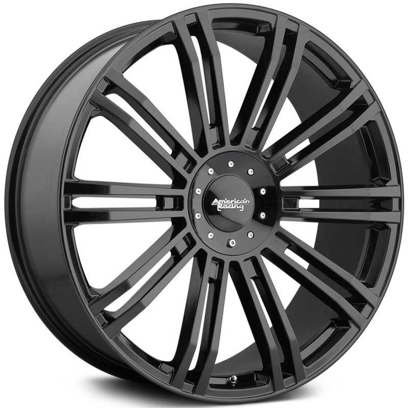 American Racing AR939 D2  Wheels Gloss Black