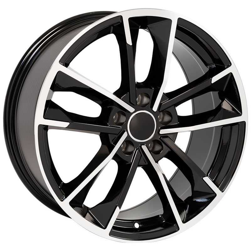 Audi Audi A Series RS4 (AU29)  Wheels Black Machined Face
