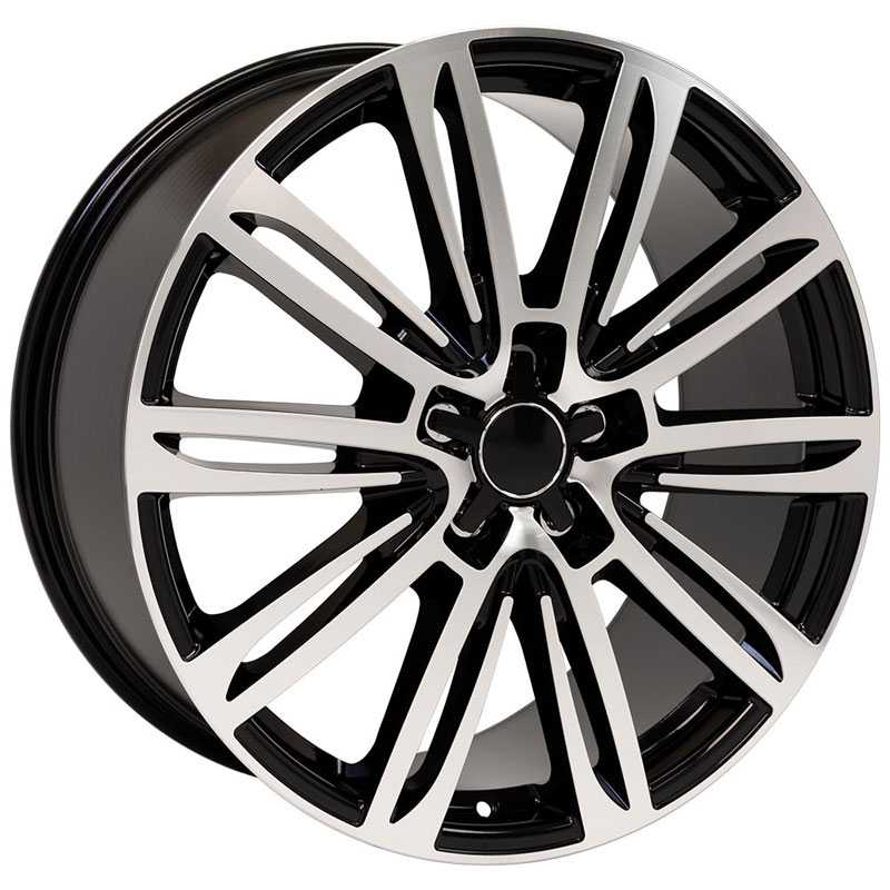 Audi Audi A7 (AU21)  Wheels Black Machined Face