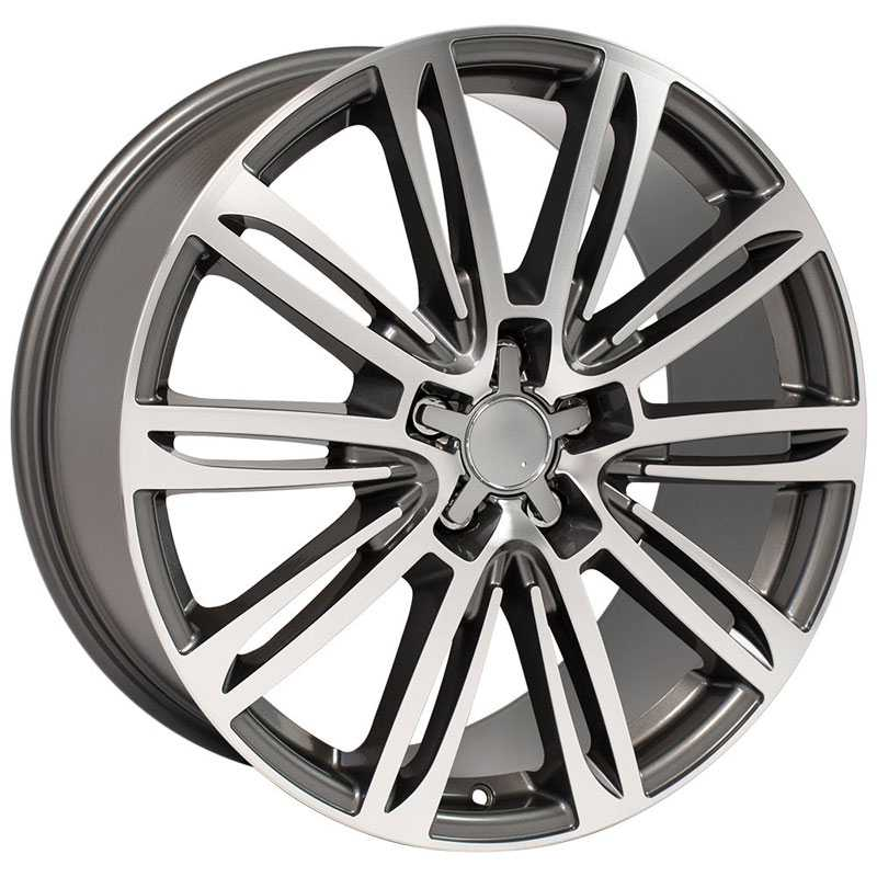 Audi Audi A7 (AU21)  Wheels Gunmetal Machined Face