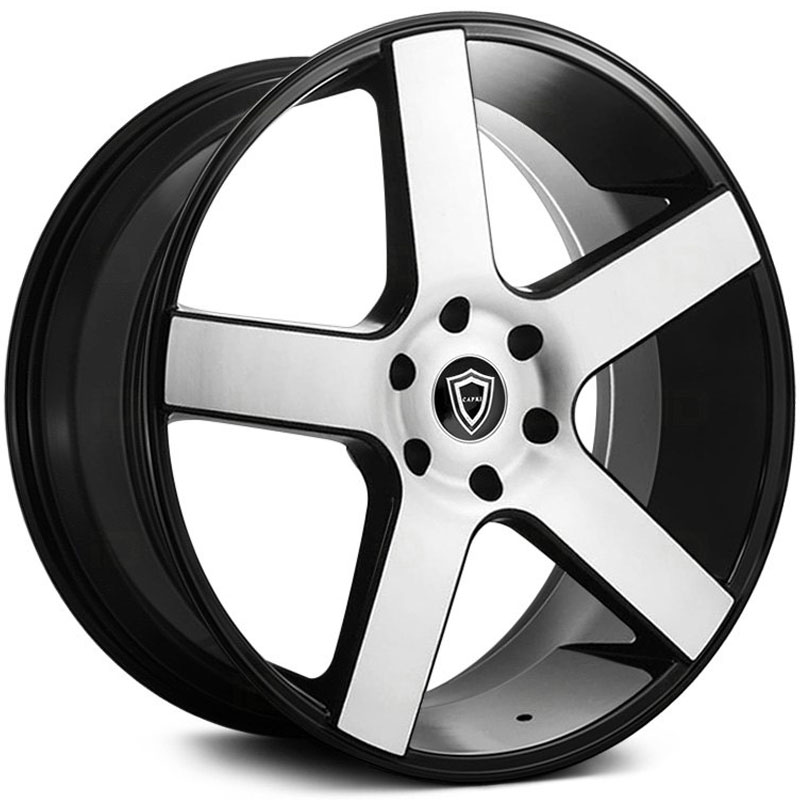 Capri Luxury Capri Luxury C5288  Wheels Gloss Black Machined Face