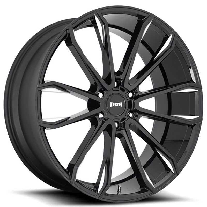 Dub S252 Clout  Wheels Gloss Black Milled