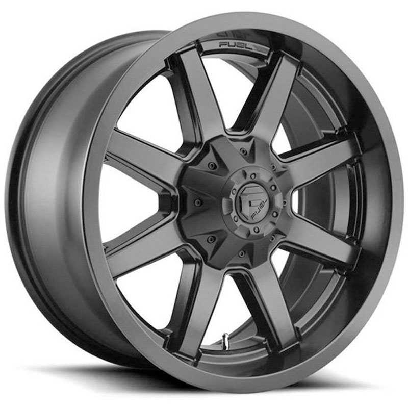 Fuel D436 Maverick  Wheels Matte Black