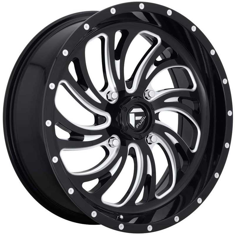 Fuel D641 Kompressor  Wheels Gloss Black Milled