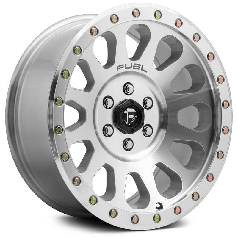 Fuel D647 Vector  Wheels High Luster Polished
