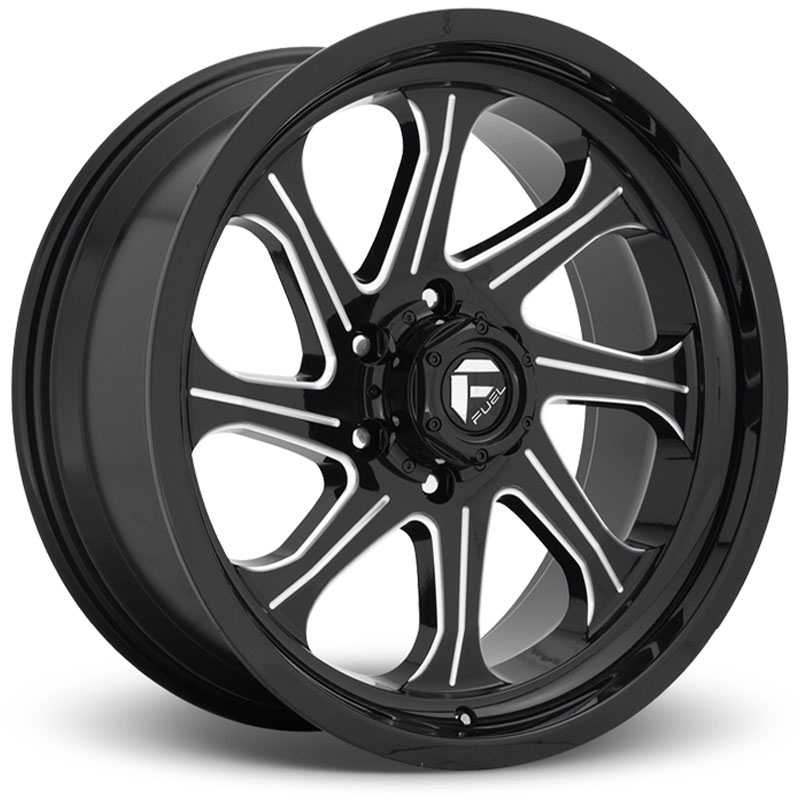 Fuel D676 Seeker  Wheels Gloss Black Milled