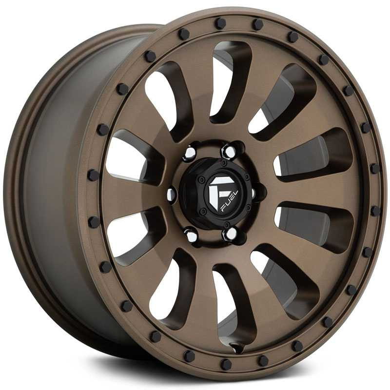 Fuel D678 Tactic  Wheels Matte Bronze