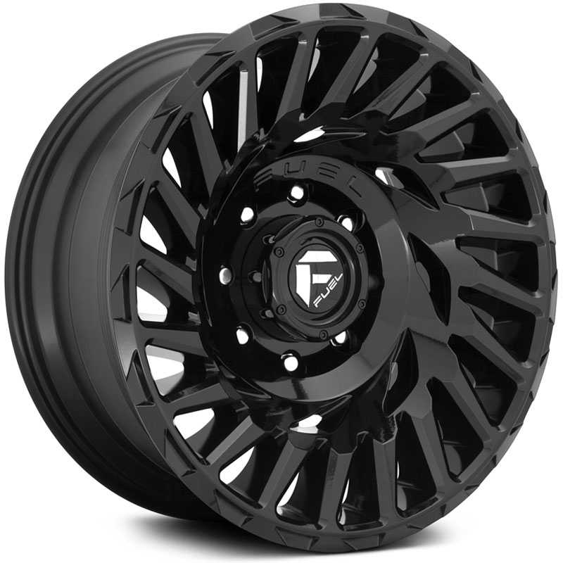 Fuel D682 Cyclone  Wheels Gloss Black
