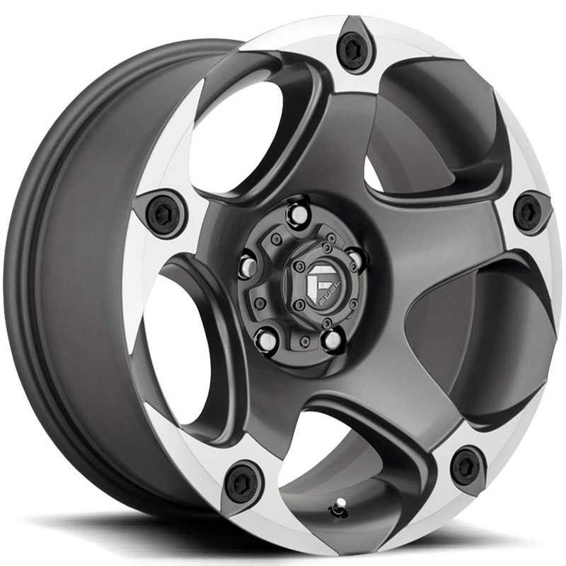 D684 Menace Menace Matte Gunmetal Machined