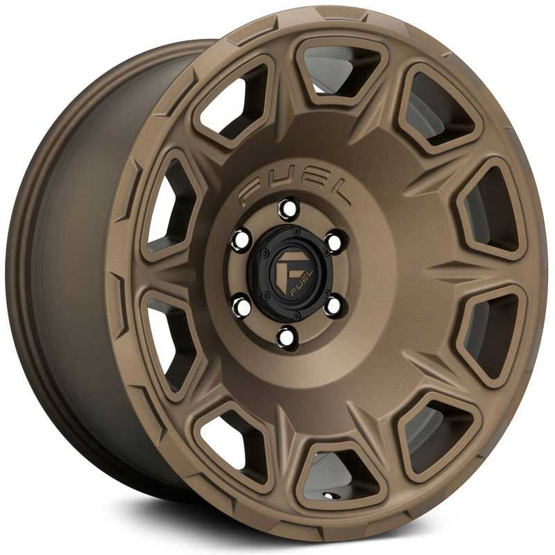 Fuel D687 Vengeance  Wheels Matte Bronze