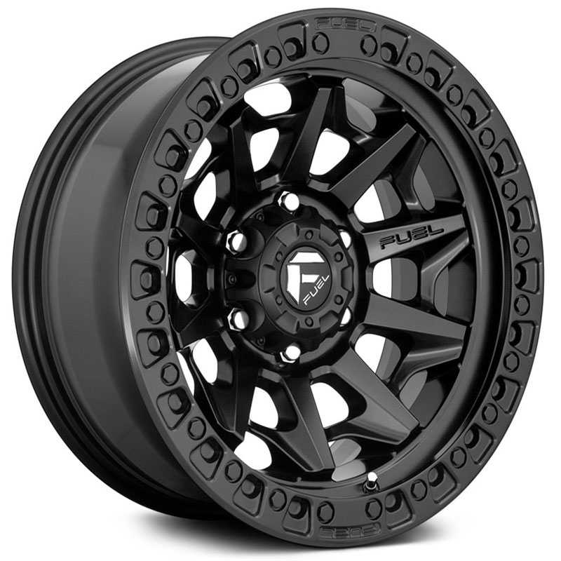Fuel D694 Covert  Wheels Matte Black