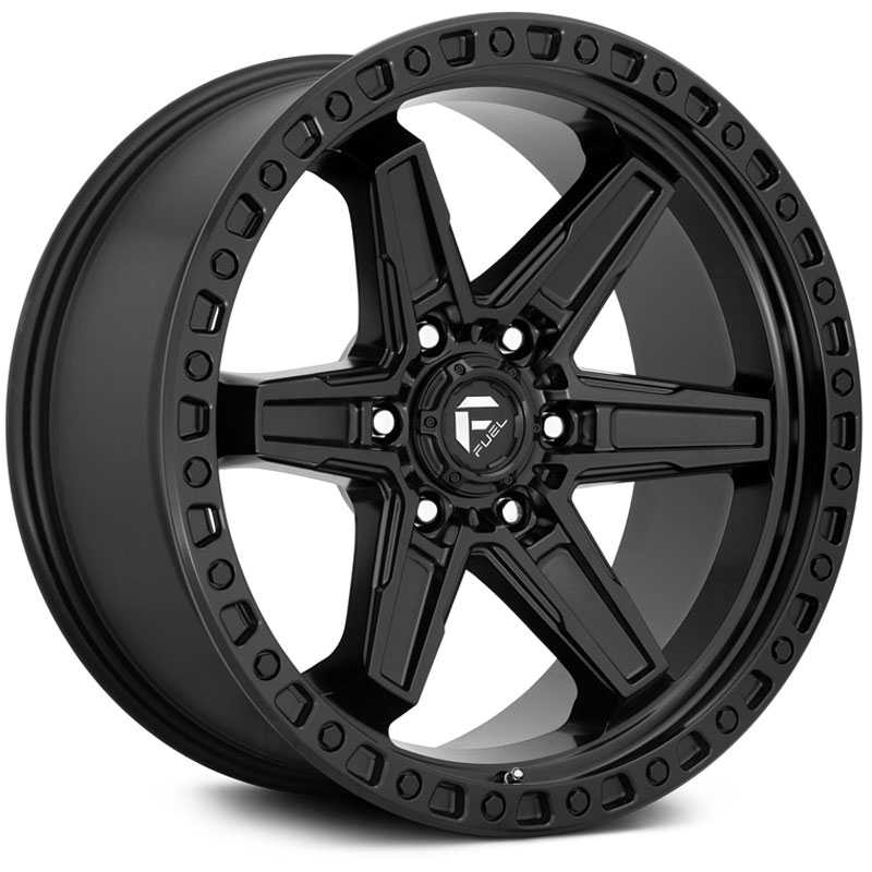 Fuel D697 Kicker  Wheels Matte Black