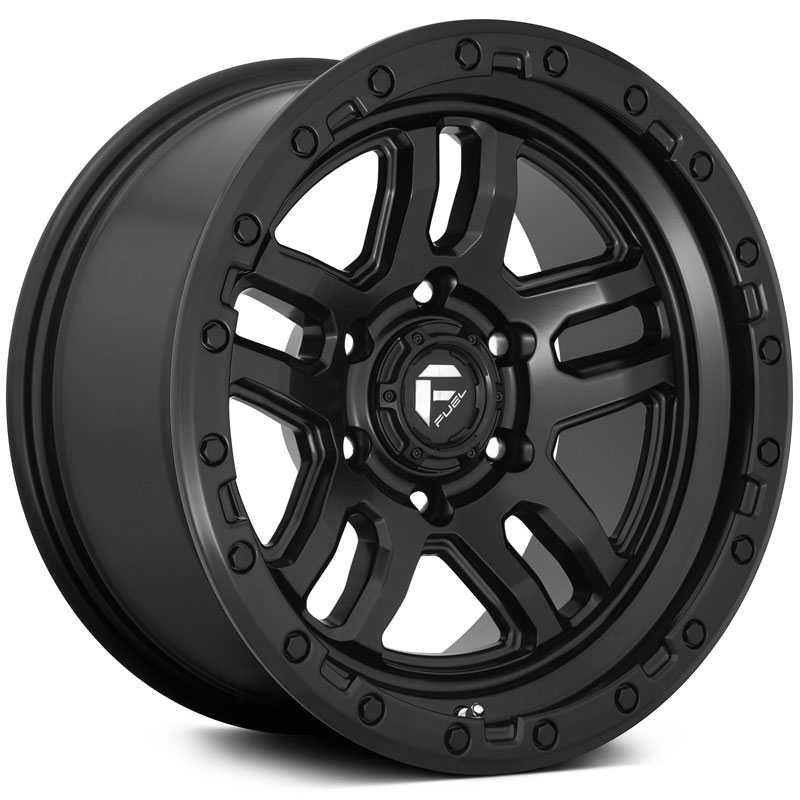 Fuel D700 Ammo  Wheels Matte Black