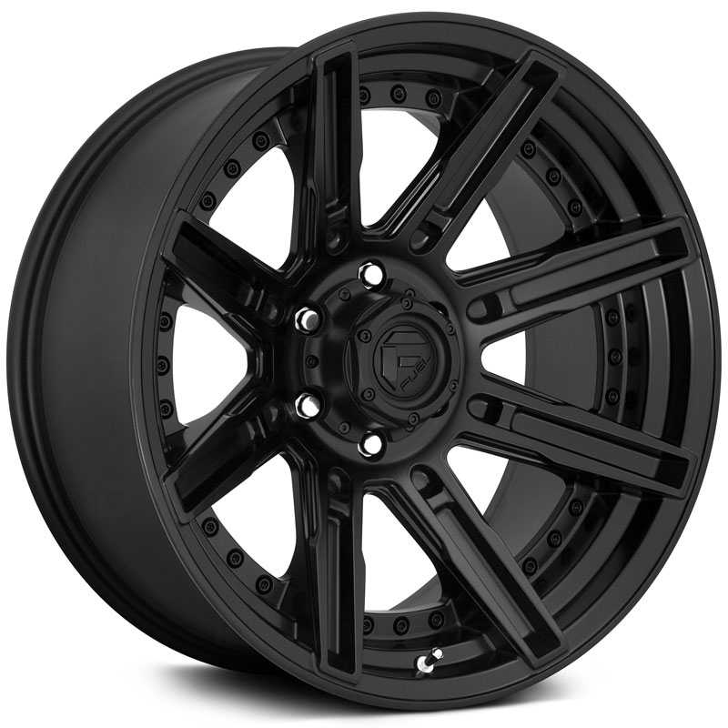 Fuel D709 Rogue  Wheels Matte Black