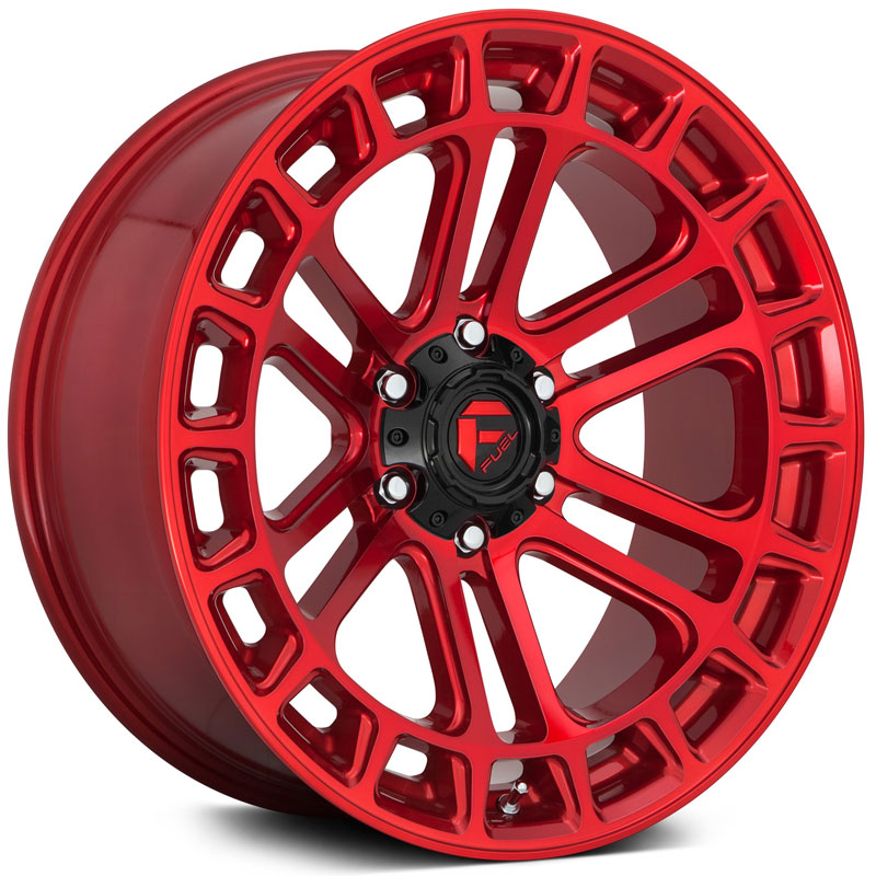 D719 Heater Candy Red Machined