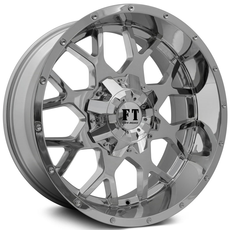 17x9 Full Throttle FT0151 Chrome REV