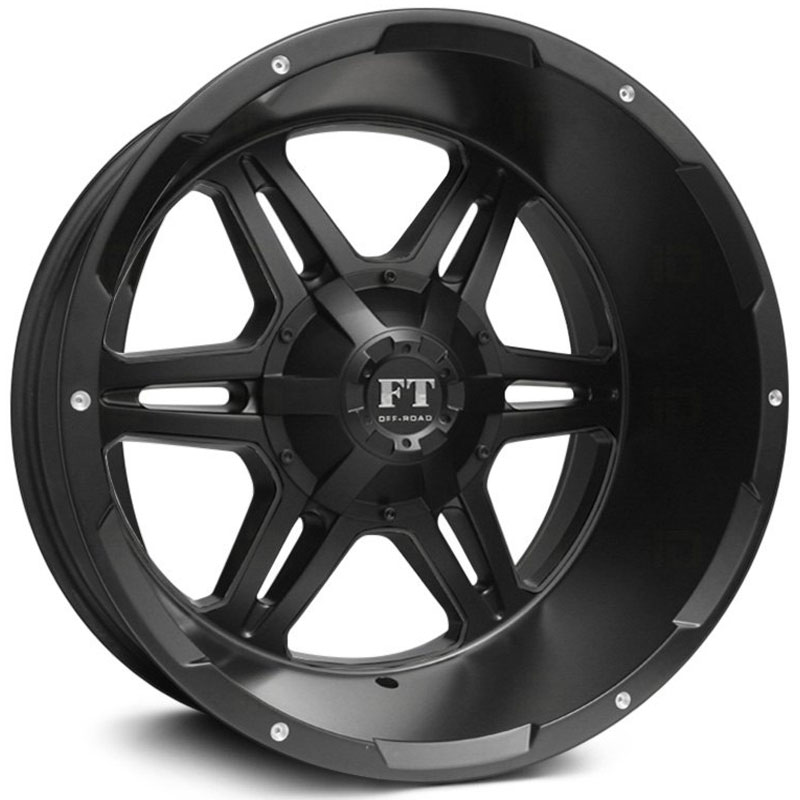 Full Throttle FT3 Satin Black