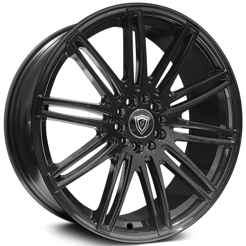 20x8.5 G-Line Alloys G1043 Gloss Black HPO