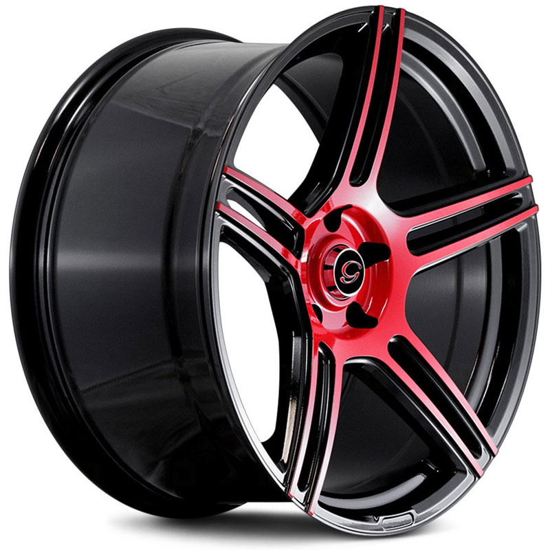 G5086 Gloss Black with Red Face