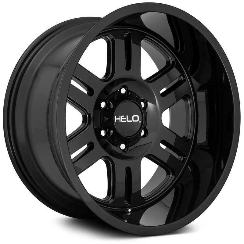 20x10 Helo HE916 Gloss Black REV