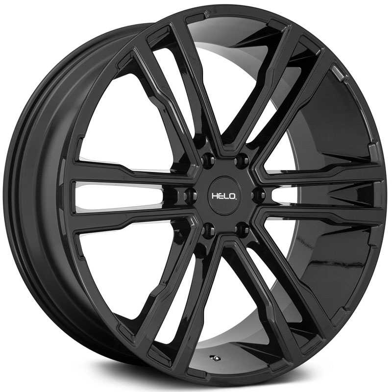 Helo HE918  Wheels Gloss Black
