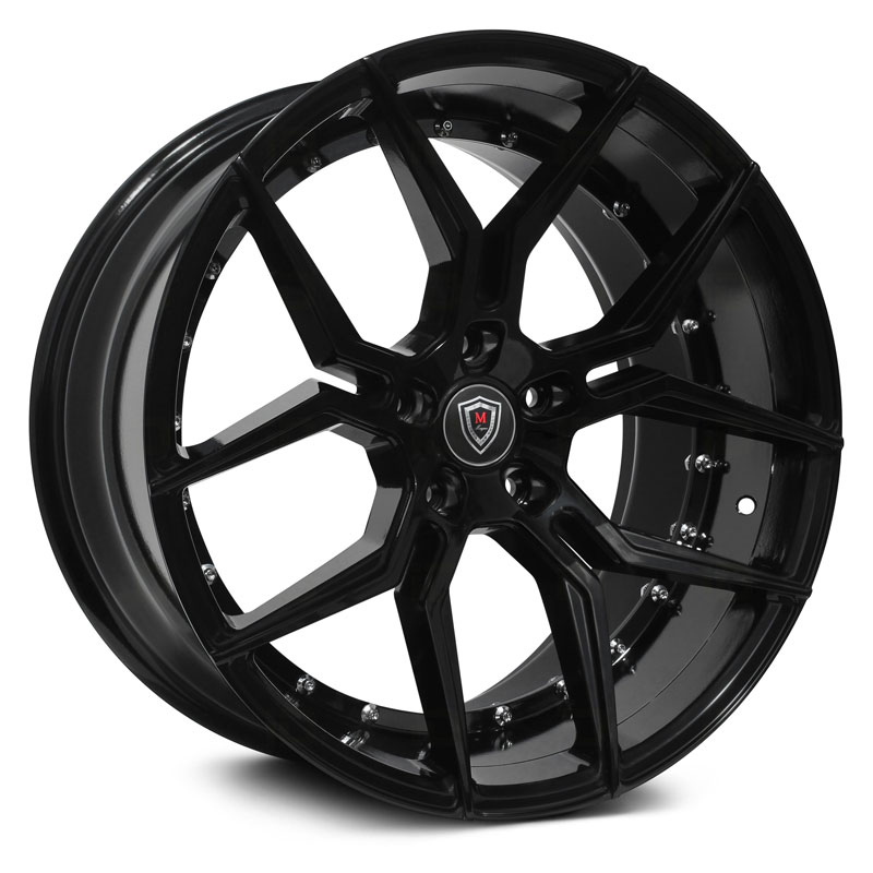 20x10.5 Marquee Luxury M1000 Gloss Black MID