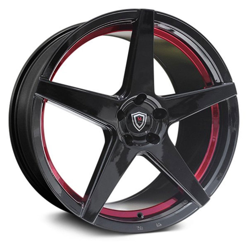 M1001 Gloss Black Red Inner